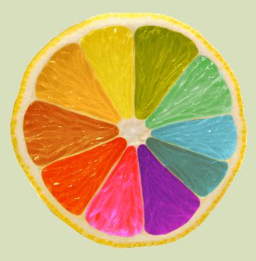 χρωματιστό λεμόνι officeworld